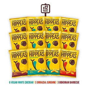 healthy snacks for work hippeas organic chickpea puffs
