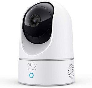 eufy Security 2K Indoor Cam Pan & Tilt, best home security camera
