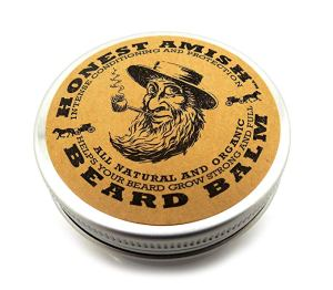 honest amish beard balm, daily beard care