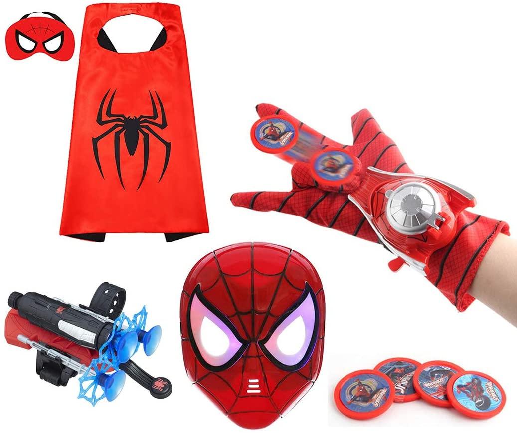 best Spider-man toys hsskj mask and cape