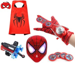 best Spider-man toys hsskj mask and cape