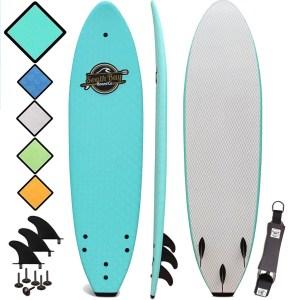 best surfboards soft top