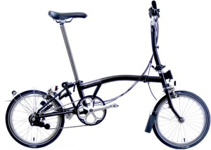 best commuter bikes - Brompton folding bike