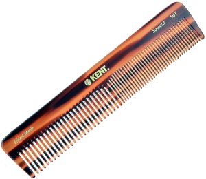 kent hair comb with fine teeth and wide teeth