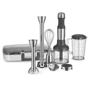 KitchenAid 5-Speed Hand Blender With Attachments