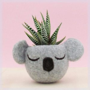 best gifts for mom - Koala Head Planter