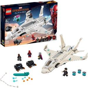 best Spider-man toys lego stark jet