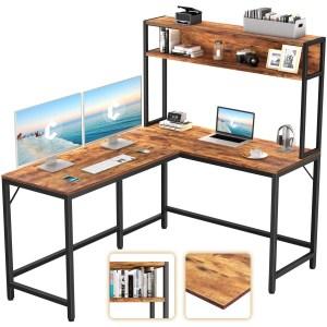 CubiCubi L-Shaped Desk