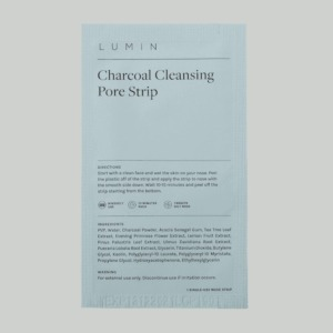 Lumin Charcoal Cleansing Pore Strip