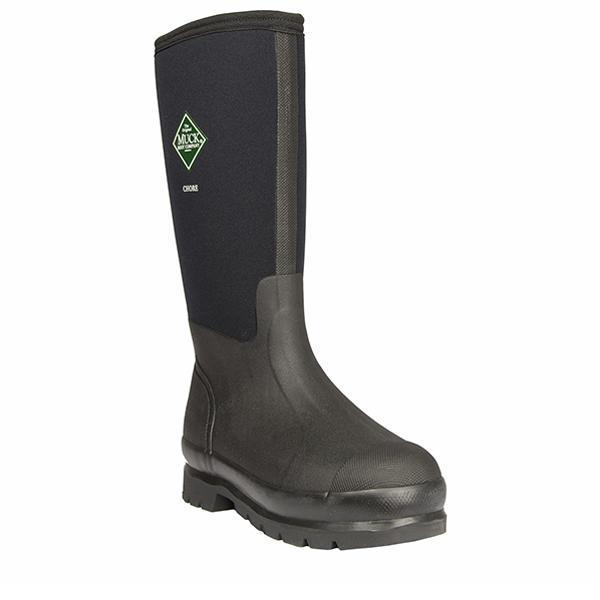 The Muck Boot Company Men's Chore Tall Muck Boots; best rain boots for men