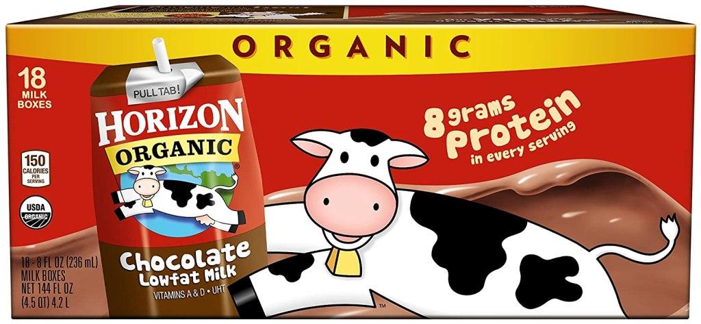 shelf stable milk horizon chocolate