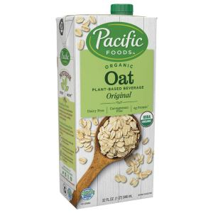 shelf stable milk - Pacific Natural Foods Organic Oat Beverage