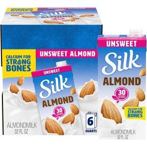 shelf stable milk - Silk Almond Milk