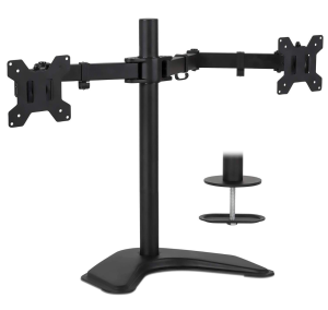 dual monitor stand mount it