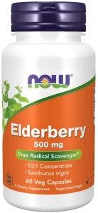 NOW Elderberry Supplements, elderberry syrup