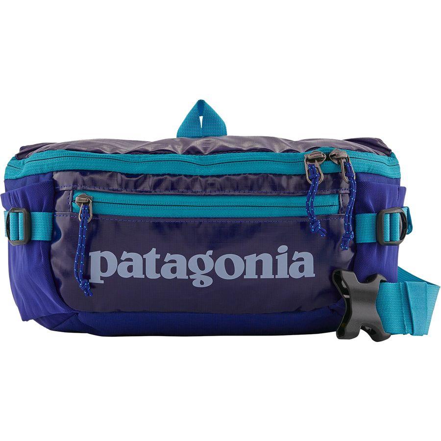 patagonia black hole belt bag - best fanny packs