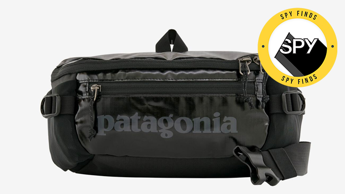patagonia black hole belt bag