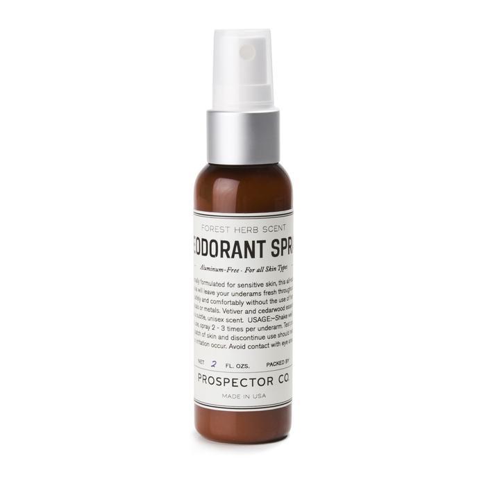 prospector spray on deodorant, Best Spray On Deodorants – Prospector Co.
