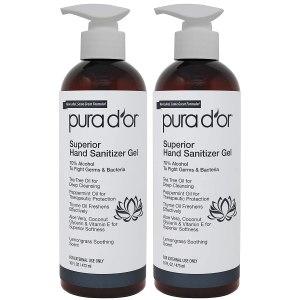 pura d'or hand sanitizer