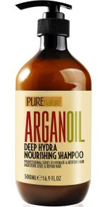 pure nature shampoo, sulfate-free shampoo