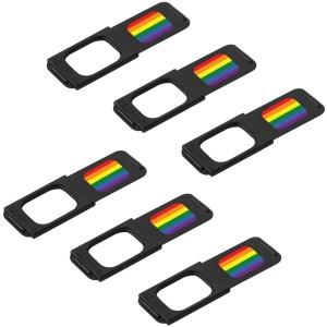 C-Slide Webcam Cover 6 Pack