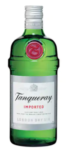 tanqueray gin green bottle