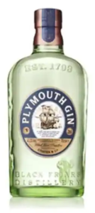 plymouth gin bottle