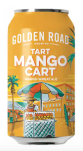 Fruit Beer Golden Road Mango
