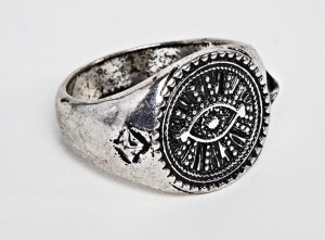 ASOS Reclaimed Vintage Inspired Eye Signet Ring
