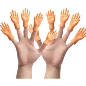 Yolococa 10 Pieces Finger Puppet