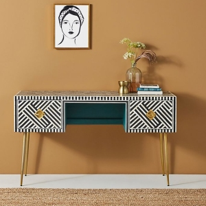 Anthropologie Optical Inlay Desk