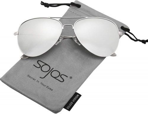 SOJOS Aviator Polarized Sunglasses