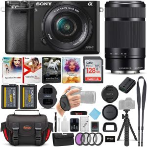 Sony Alpha A6000 Mirrorless Camera Bundle