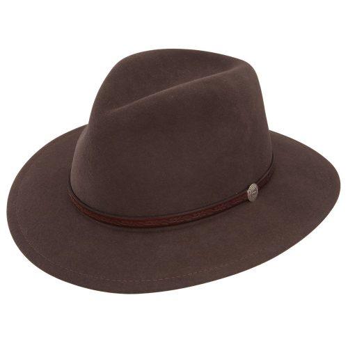 Stetson Cromwell Crushable Fedora Hat