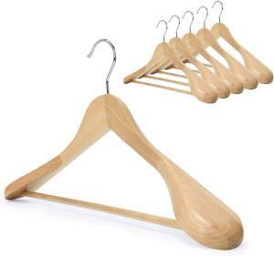 best hangers storageworks natural wood
