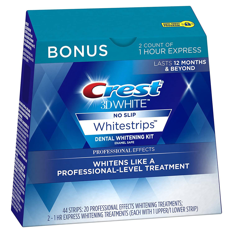 Crest 3D Whitening Strips Kit