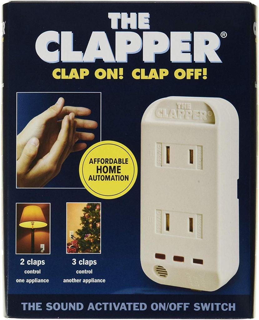 The Clapper box front, clapper review