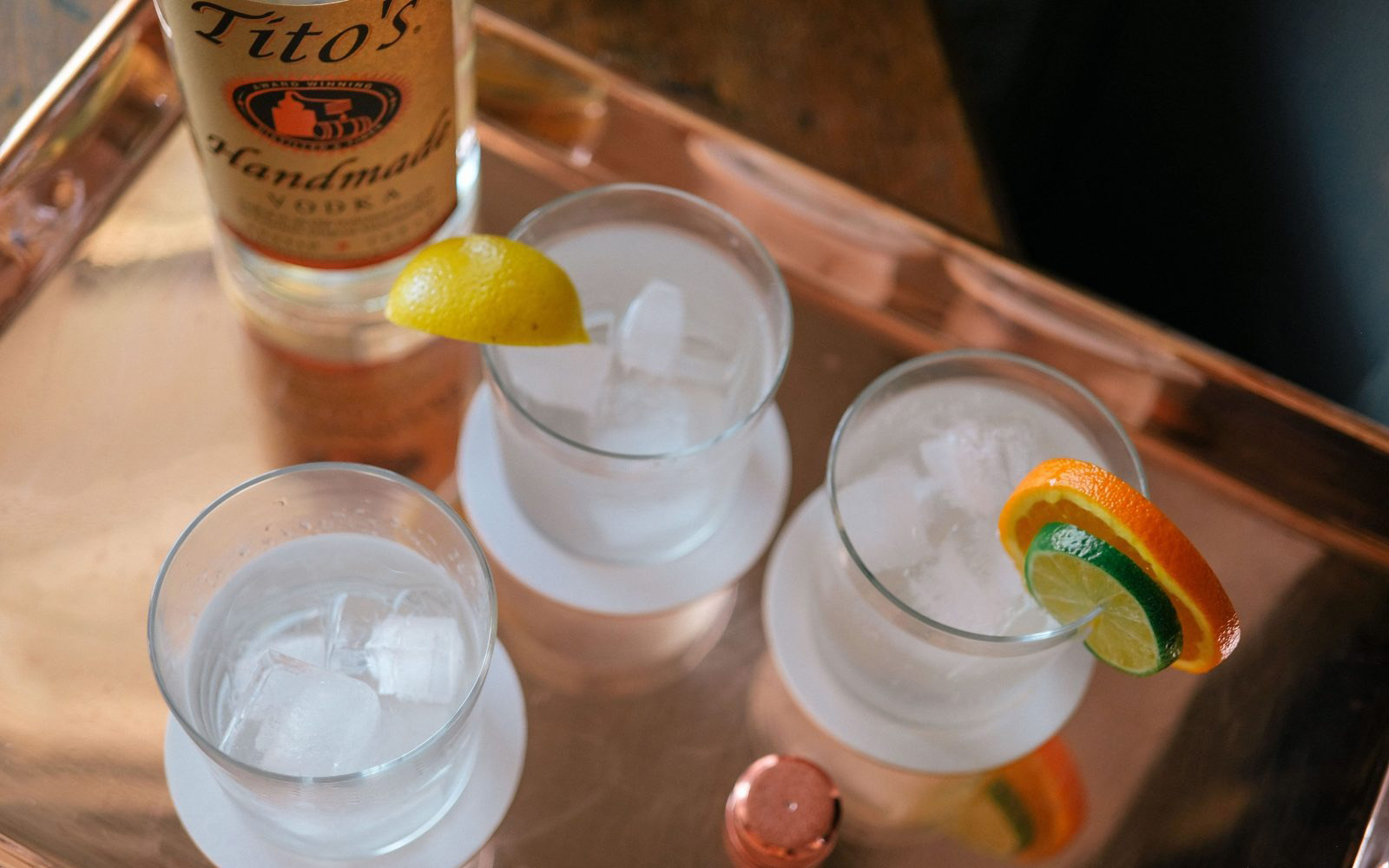 why titos vodka good for dieting?
