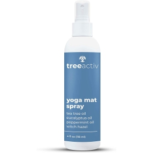 TreeActiv yoga mat spray, how to clean a yoga mat