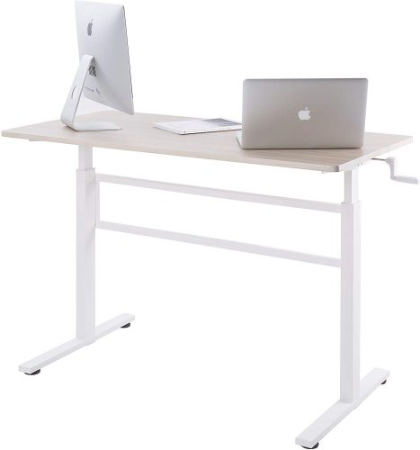 UNICOO Crank Adjustable Standing Desk