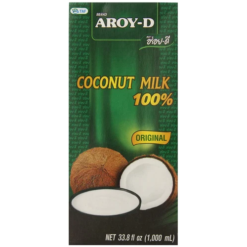shelf stable milk - AROY-D 100% Coconut Milk