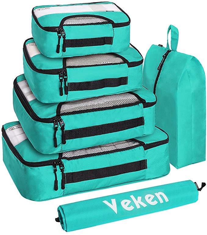 Veken 6 Set Packing Cubes
