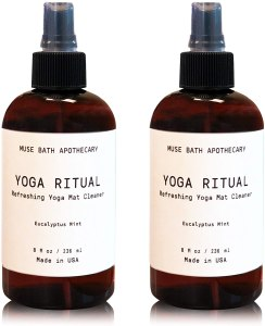yoga ritual refreshing mat cleaner, how to clean a yoga mat
