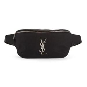 Saint Laurent Nylon Belt Bag