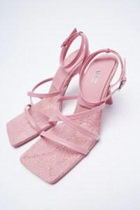 Zara leather sandals, birthday gifts for girlfriend