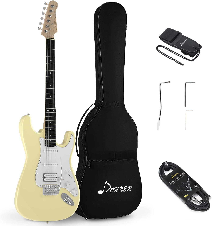 best guitars for beginners donner