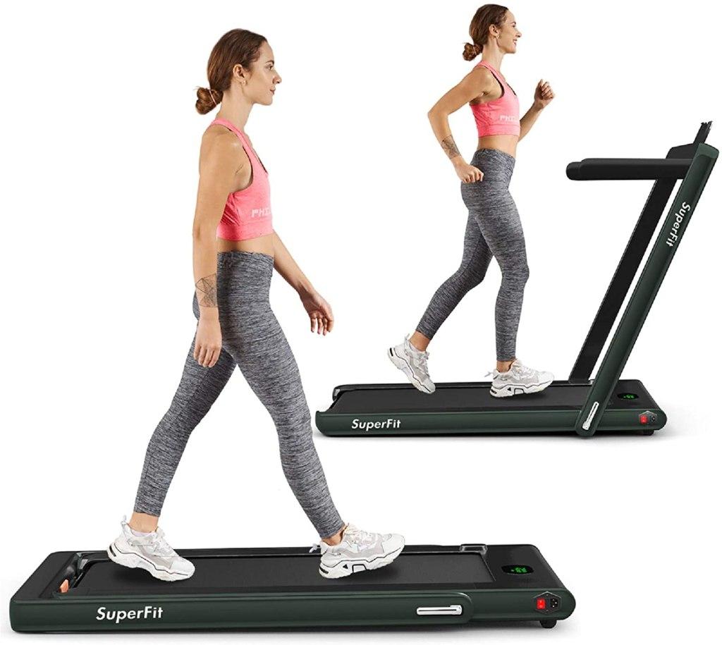 treadmill desk two in one