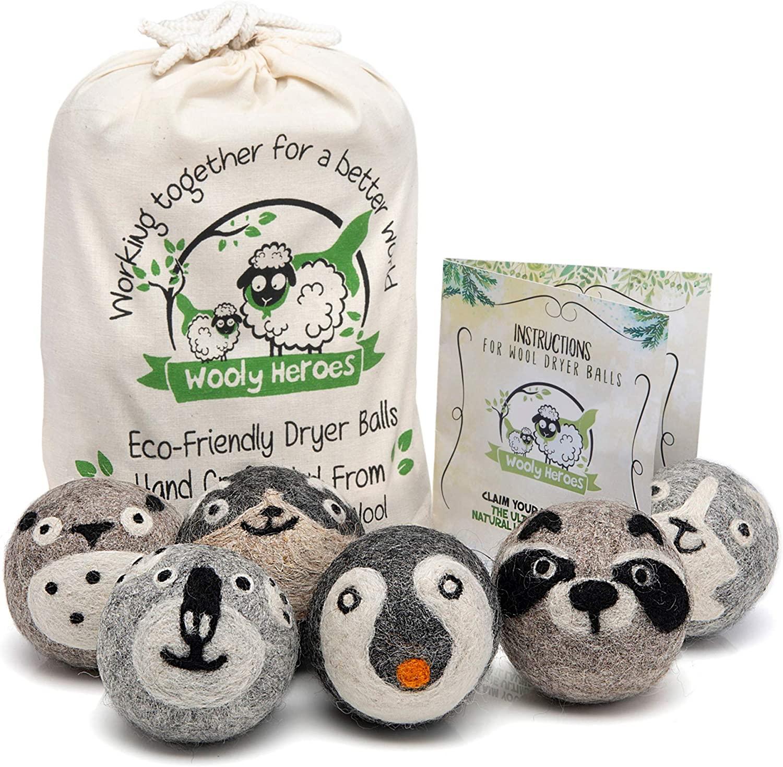Wooly Heroes Dryer Balls