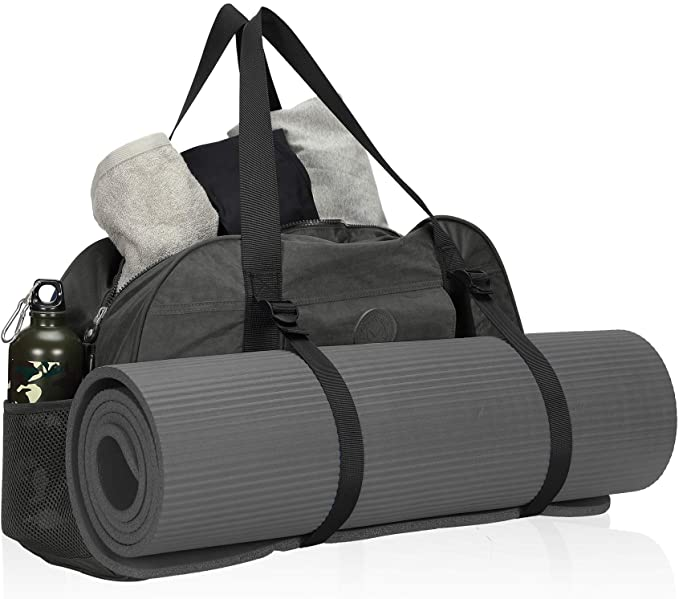 Gym Bag with yoga mat holder