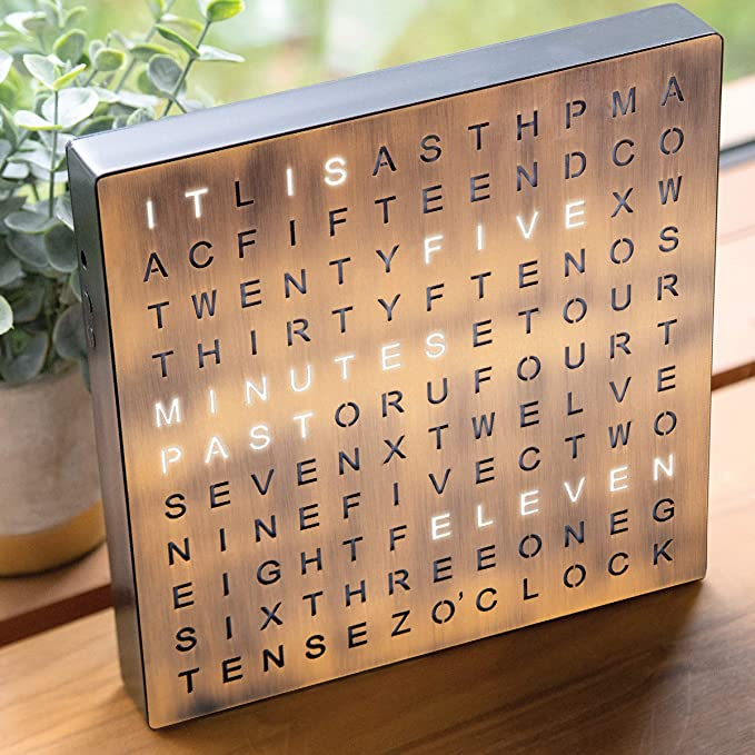 Sharper Image Light Up Word Clock